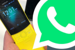 Nokia 8110 4G phone Now Introducing Whatsapp